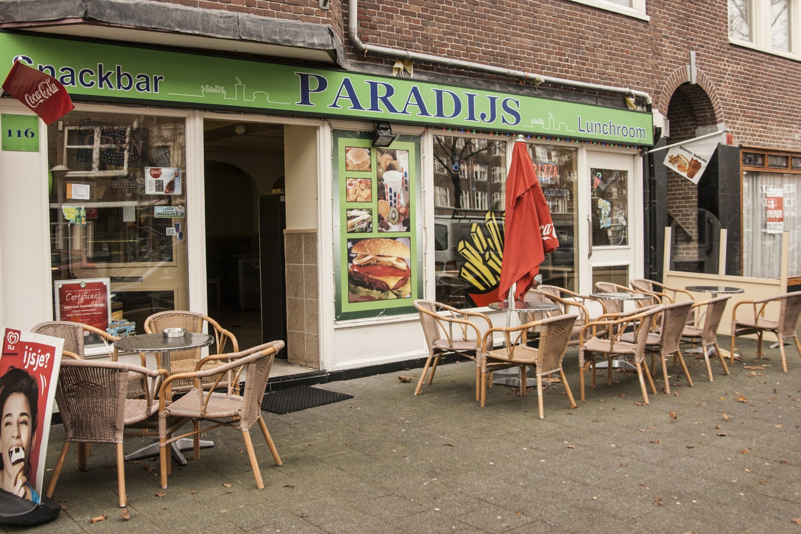 Snackbar Paradijs